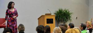 Gwyneth Moss presents at EFT Gathering
