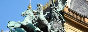 Statue of Horses in Prague