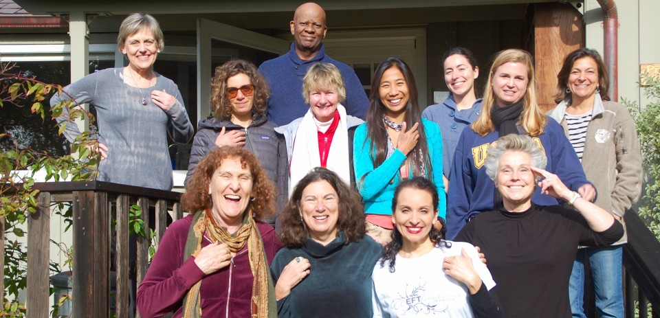 Gwyneth's group at Esalen
